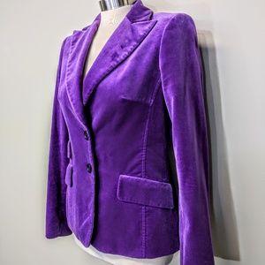 cortefiel Jackets & Coats - Cortefiel Vintage Velvet Blazer